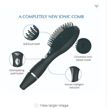 Electric head massager Ionic Hair Comb